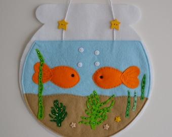 Felt Goldfish Bowl - 'Perfelt Pet'