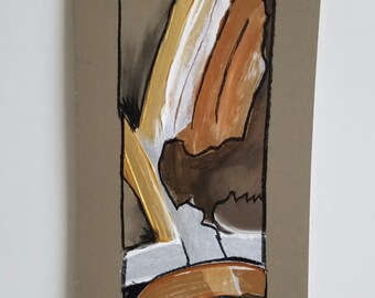 "Mixed Media Decorative Painting ""Texture 18"""