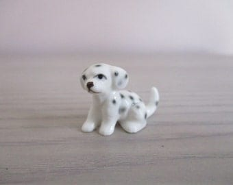 Bone China Dalmation Puppy