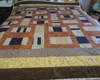 Hand stiched quilt