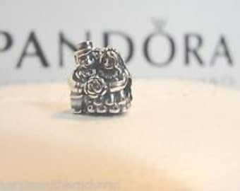 NEW! Authentic Pandora Mr. and Mrs. Bride and Groom #791116
