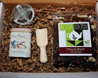 Black Tea Box - Tea Gift - Loose Leaf Tea - Tea - Tea Gift