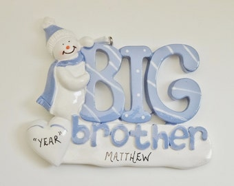 Big Brother Personalized Ornament - Big Brother Ornament