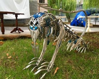 Wonderful metal robot Hellish Dog