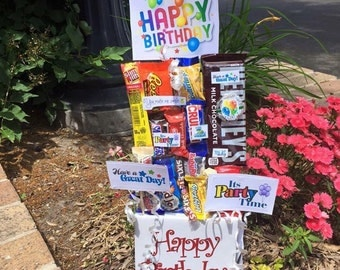 Birthday Candy Bouquet