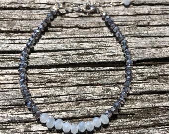 Silver Ice Bracelet
