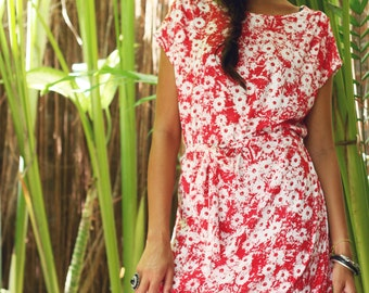 Miss Stacey Dress - Daisy Print