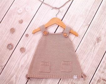 Baby dress knitting dress model Luisa