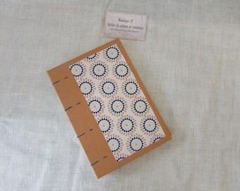 Coptic - the creative - blank book - fabric graphics