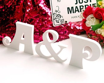 Wooden Letter Sign, Ampersand Sign Stable Wooden sign, Personalized Signs, baby shower, home decor, birthday party, Wooden Cr