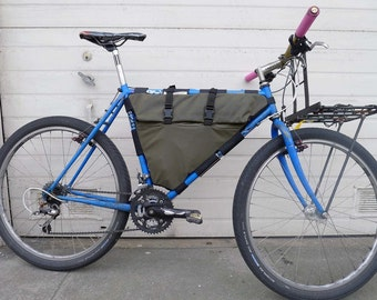 Sideroll Full Framebag for Bicycles, Custom sized to your frame!