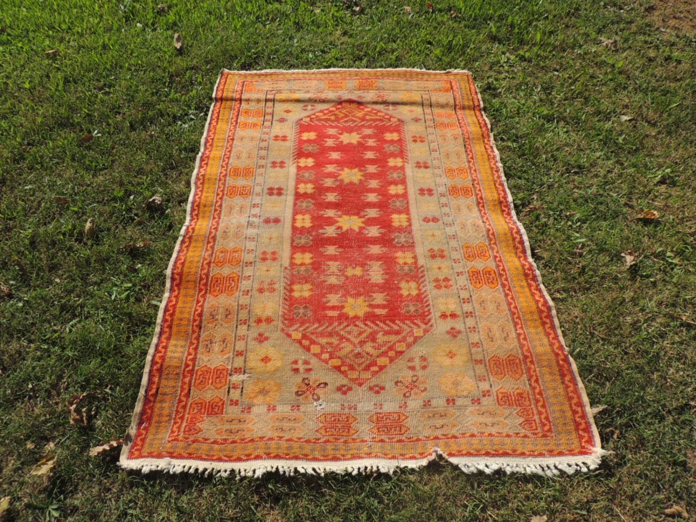 Semi Antique Wool Turkish Area Rug Area Rugs On Sale Turkish