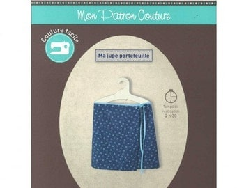 P6 - FROU FROU - Sewing pattern - Wrapped-around skirt.