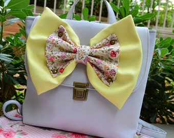 Captain Ice Backpack with Lemon & Grandma Floral