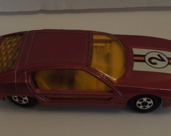 Vintage 1969 Matchbox Series Lamborghini Marzal (Red)