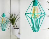 Himmeli Geometric Lantern: Turquoise (Special edition)