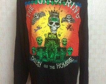 Vintage 90s THE OFFSPRING Ixnay On The Hombre Band Tshirt Longsleeves