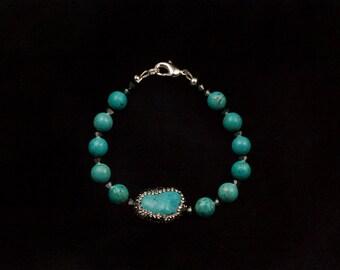 Trail of Turquoise Bracelet