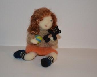 Felting Needle -Girl Doll -Decoration :o)