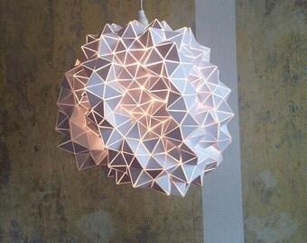 Ein von einer Art - geodätischen hängen Lichtskulptur - groß - 45cm