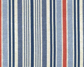 QUILTING COTTON: Michael Miller Long Stripe Fabric. Sold by the 1/2 yard