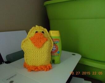 Yellow Ducky Bath Mit