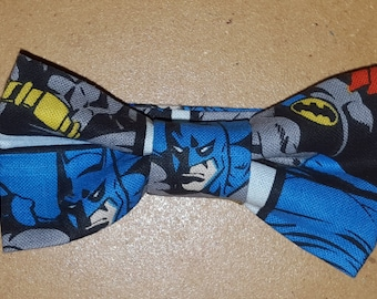 Batman Bowtie for Toddlers, Boys, and Men