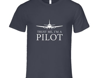 Pilot T-shirt on a special price. Pilot tshirt for birthday. Pilot tee present. Pilot idea gift. Buy great Pilot gift purchase Pilot t shirt