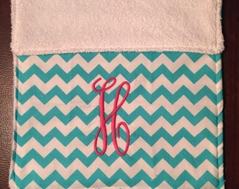 Personolized monogram burp cloth!