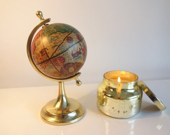 Miniature Antique Globe