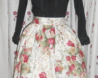 Floral Lolita skirt