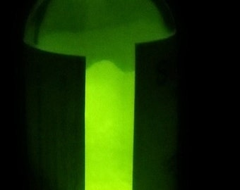 Strontium Aluminate Yellow Glow in the Dark powder, 25 Grams