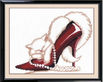 Cross Stitch Kit by Oven - Slipper