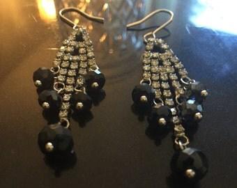 Chandelier Blue Drop earrings