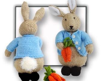 Peter Bunny Rabbit Pattern