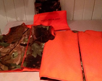 Hunting Vest kKids / bib of hunting child