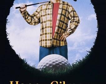 Adam Sandler in Happy Gilmore 1996 Sports Comedy Classic Movie POSTER