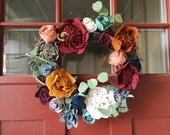 Felt Floral Wreath
