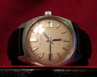 Elgin Galaxie vintage wrist watch
