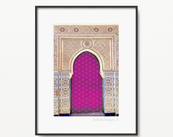 Pink Darbar Islamic Print - Modern Islamic Wall Art - Instant Download - A4 and 8 x 10""