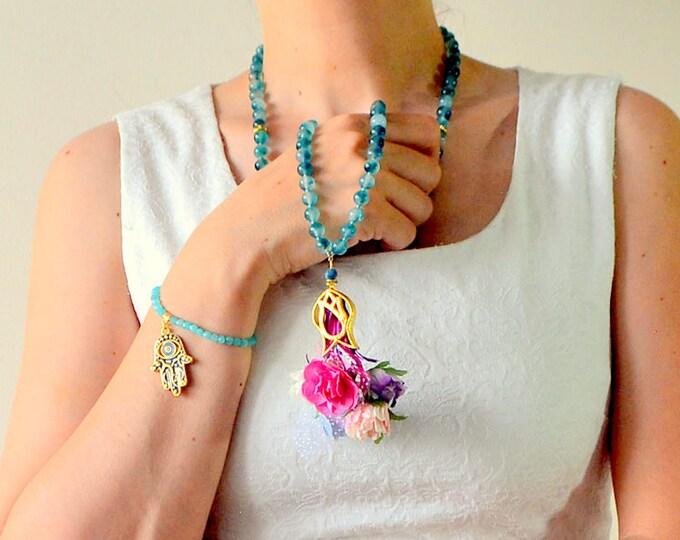 Islamic eid gift, islamic bridal rosary necklace, tasbah, tasbeh, masbaha, mala, tasbeh subhah tespih praying 99 bead, muslim spiritual gift