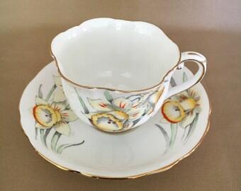 Royal Stafford Daffodil Teacup Set