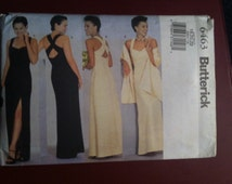 Unused Uncut Butterick Pattern 6463 Dress and Stole Size 18-20-22 Womans Clothing Sewing Patterns