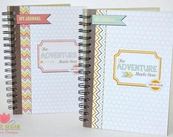 Travel Journal, Vacation Journal, Journal for Children, Kid's Journal,travel planner,travel notebook