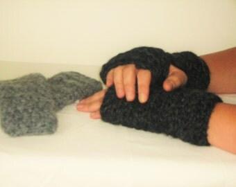 Fingerless Gloves, Handwarmers, Chunky