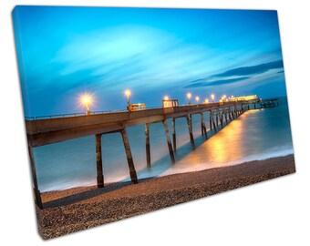 Deal Pier KENT Canvas WALL ART C2023