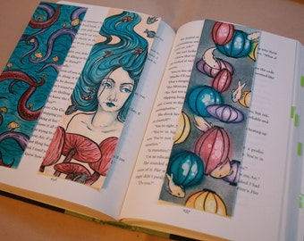 set of three Bookmarks