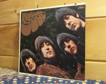 The Beatles - Rubber Soul - 33 1/3 Vinyl Record