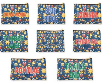 """9.5"""" x 6""""  CAMP BFF Pouch"""