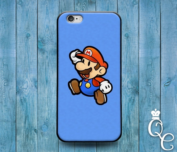 iPhone 4 4s 5 5s 5c SE 6 6s 7 plus iPod Touch 4th 5th 6th Gen Cover Custom Retro Blue Cute Video Game Character 90s Phone Cover Funny Case